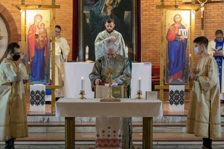 Ofiarowanie Pańskie i odpust parafialny w Cerkwi Greckokatolickiej