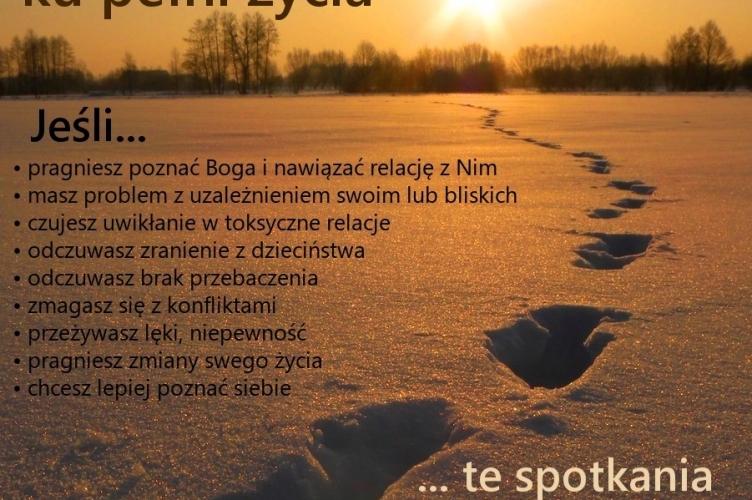 Warsztaty rozwoju duchowego - zapisy