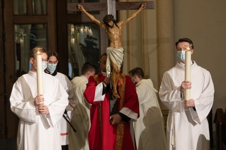 Liturgia na cześć Męki Pańskiej w Archikatedrze Łódzkiej
