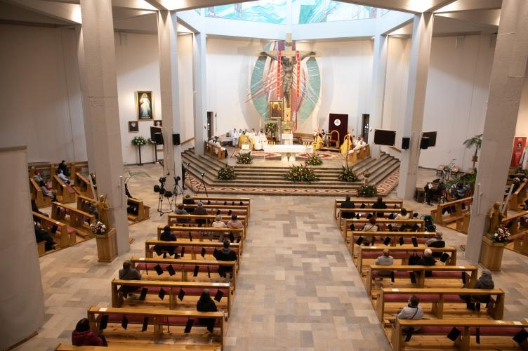 Jubileusz 300-lecia Zgromadzenia Pasjonistów i 15-lecie konsekracji kościoła pw. Matki Boskiej Bolesnej w Łodzi  - 2021
