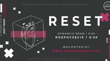 Arena Młodych - RESET - 13 września na Stadionie Orła