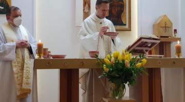 Ks. Łukasz Burchard: Pan Jezus posyła nam Ducha Świętego nazywanego Duchem Prawdy