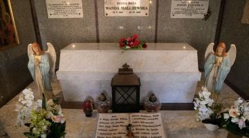 Archidiecezjalna pielgrzymka do grobu Wandy Malczewskiej w Parznie k. Bełchatowa