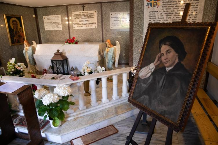 Archidiecezjalna pielgrzymka do grobu Sł. B. Wandy Malczewskiej - 2021