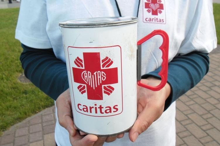 Zbiórka na charytatywną działalność Caritas