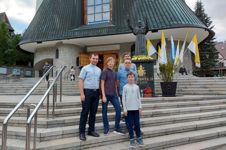 Łask: ministranci na wakacyjnym wypoczynku w Tatrach