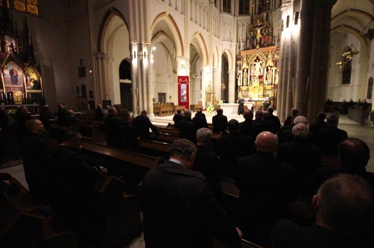 Abp Ryś: Twarz Jezusa jest Dobrą Nowiną o Bogu   rekolekcje kapłańskie 2021 #2