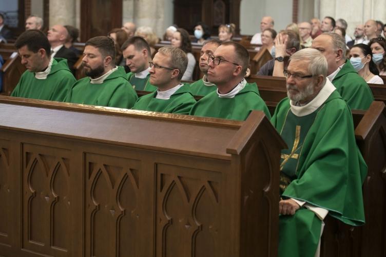 Eucharystia na rozpoczęcie VI Kongresu Nowej Ewangelizacji w Łodzi - 2021
