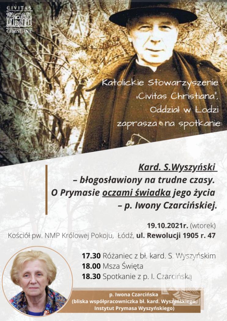 Kard. Wyszyński - błogosławiony na trudne czasy