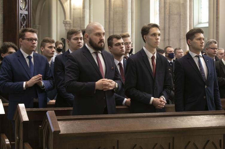 Inauguracja roku akademickiego 2021/2022 w WSD w Łodzi