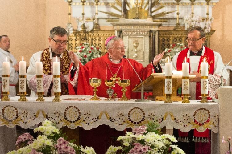 Wprowadzenie relikwii Św. Stanisława Biskupa do parafii Najświętszego Zbawiciela | Łódź 2021