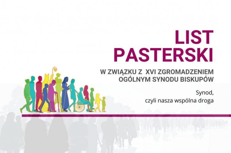 SYNOD, CZYLI NASZA WSPÓLNA DROGA - List pasterski w związku z XVI Zgromadzeniem Ogólnym Synodu Biskupów