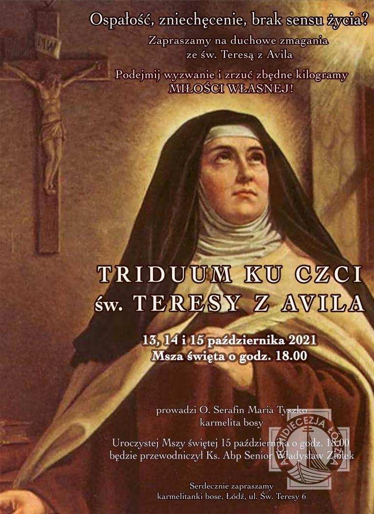 Triduum ku czci św. Teresy z Avila